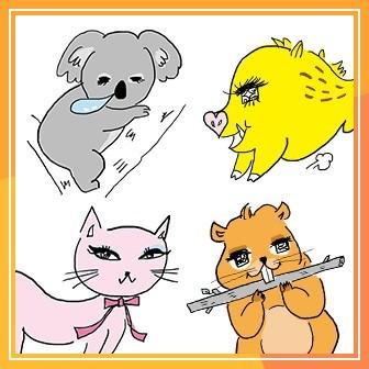 最適のダイエット法を動物キャラ別に教えます。ダイエット診断にトライ