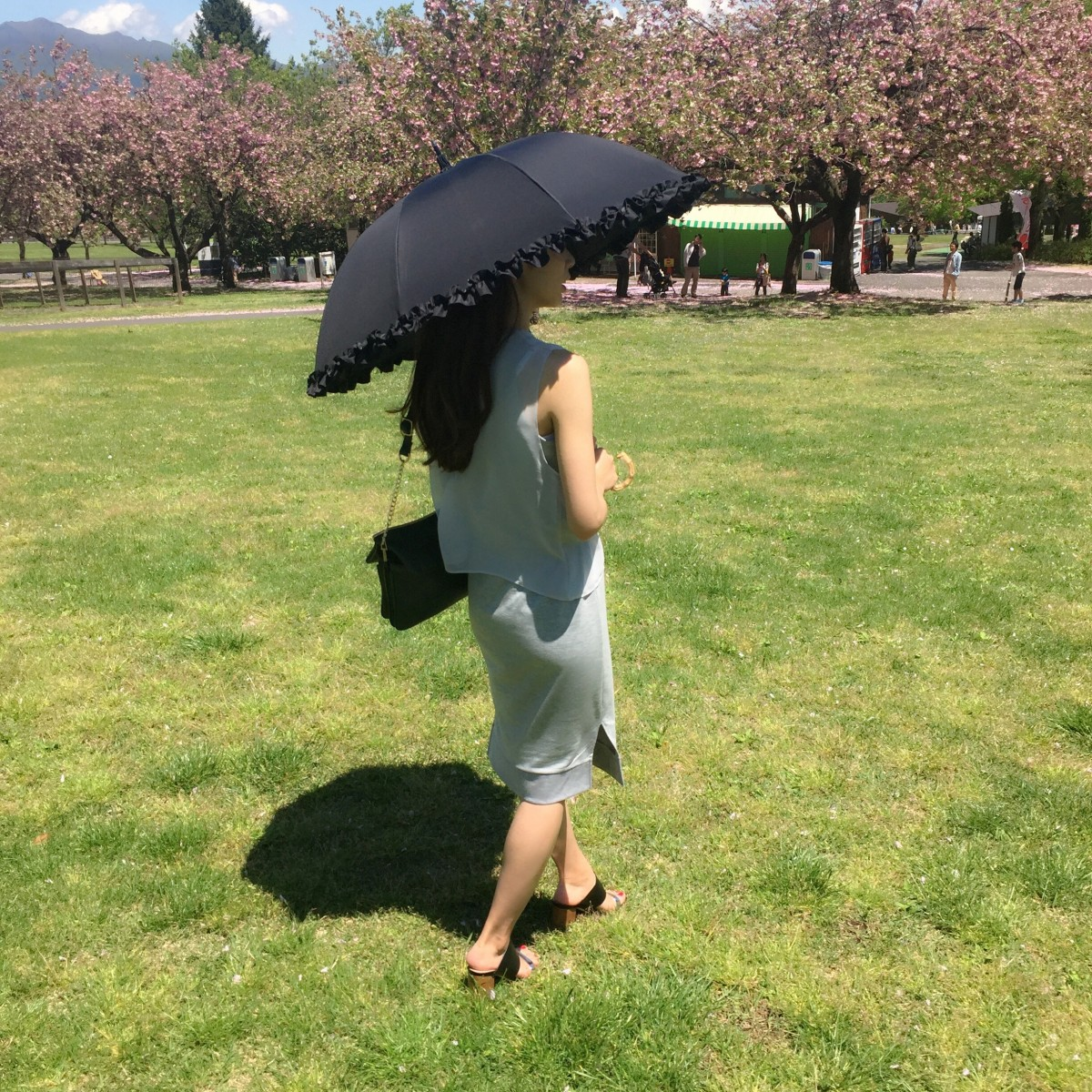 《GW中大活躍☆》愛用中のUVカット100%の日傘