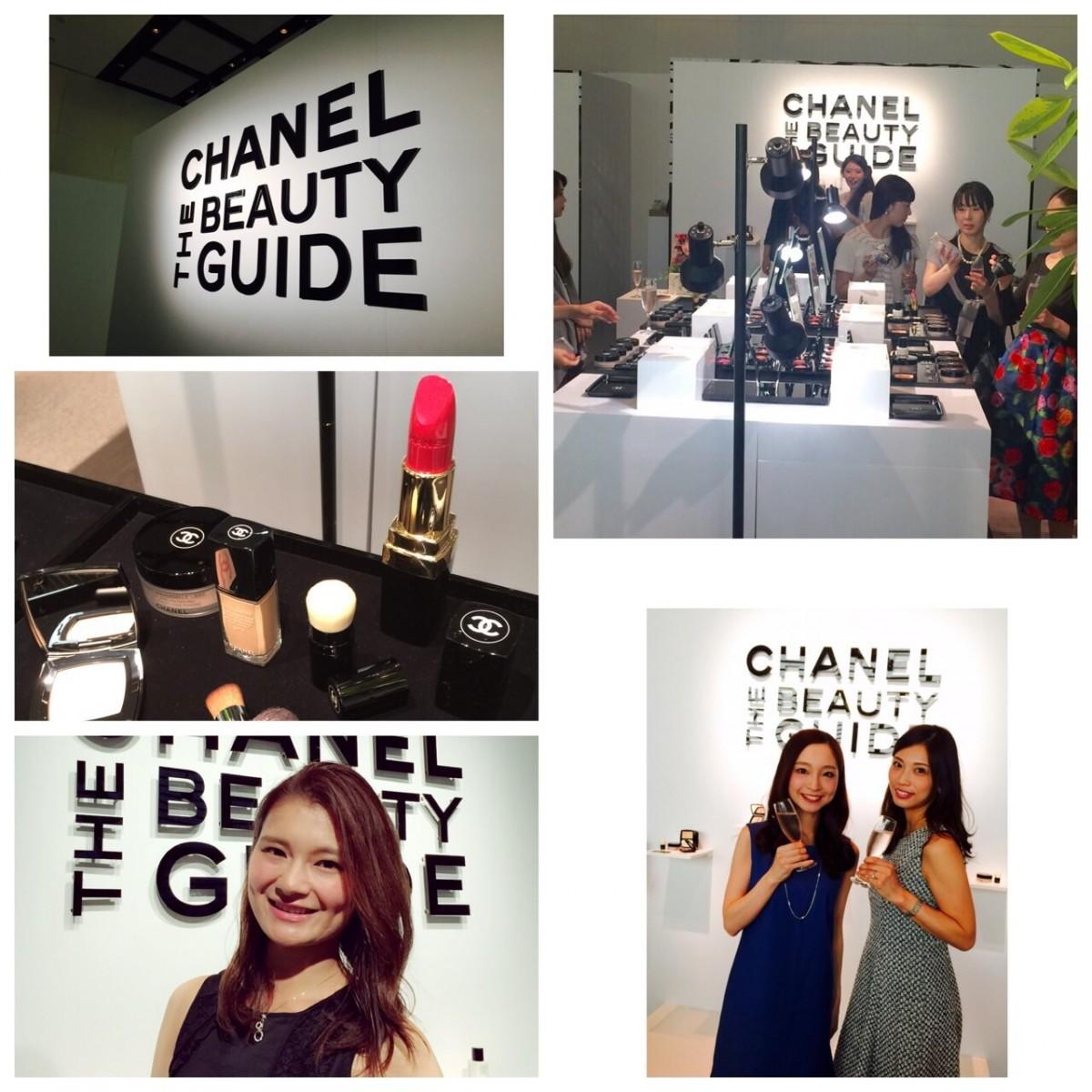 #シャネルフェイス CHANEL THE BEAUTY GUIDEイベント。ツヤと光のベースメイクで変わる!参加者全員、一層のシャネルファンに!