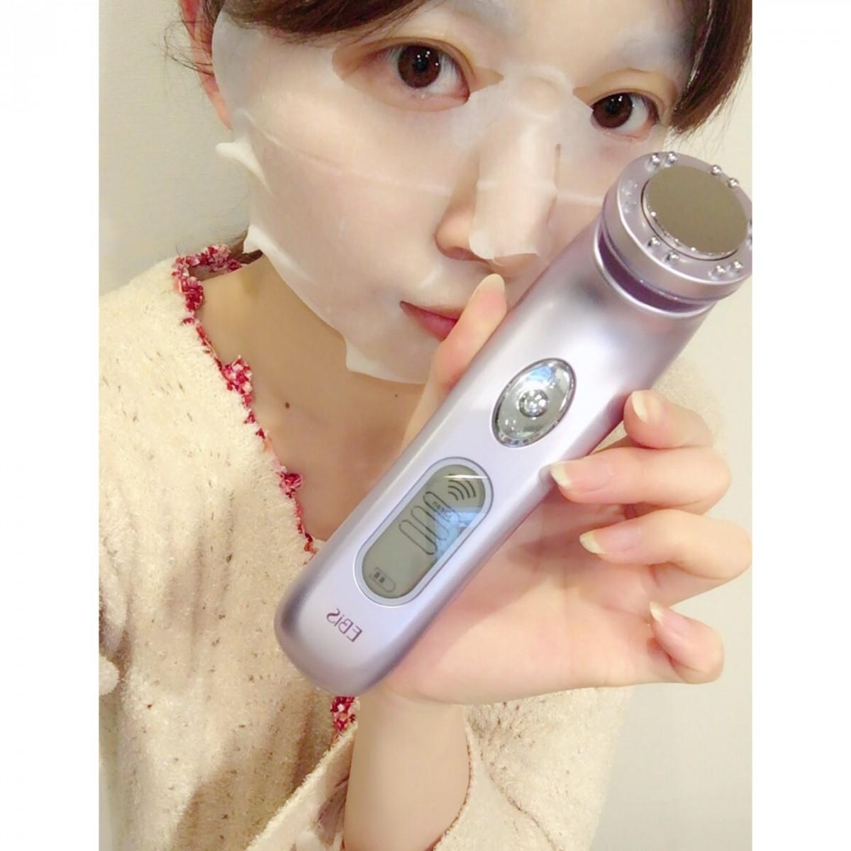 保湿をさらに強化♡プチプラパックでもしっかりと保湿されちゃう!その訳はEBiSの美顔器にあるんです!