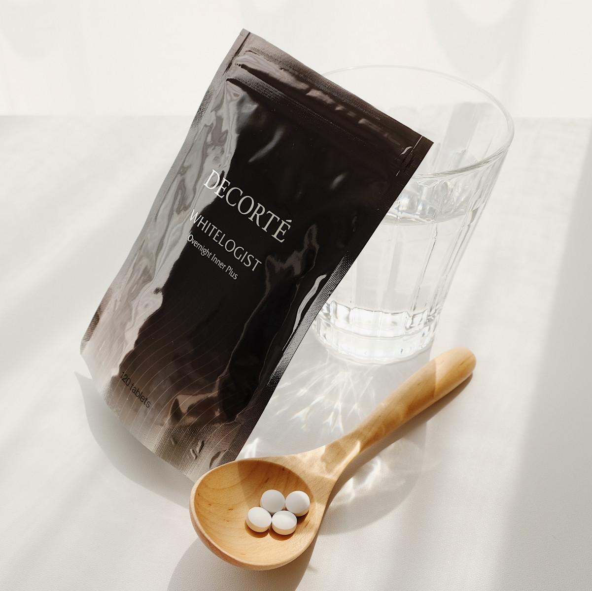 コスメデコルテ ホワイトロジスト オーバーナイト インナー プラス [栄養機能食品] 120粒 約30日分 ¥7500