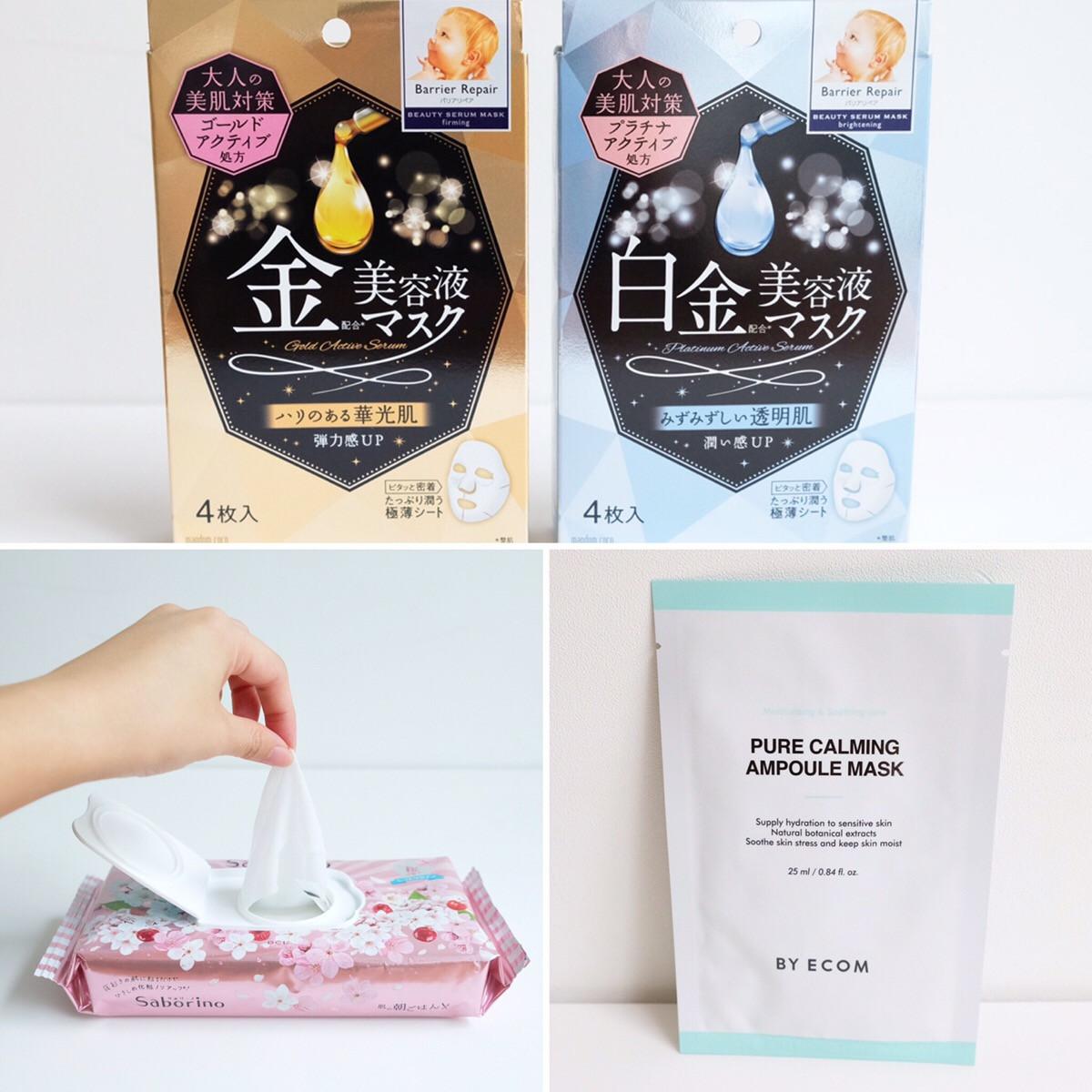 プチプラシートマスクで乾燥対策! 新作・限定・韓国品をタッチ&トライ #プチプラコスメは水曜日に