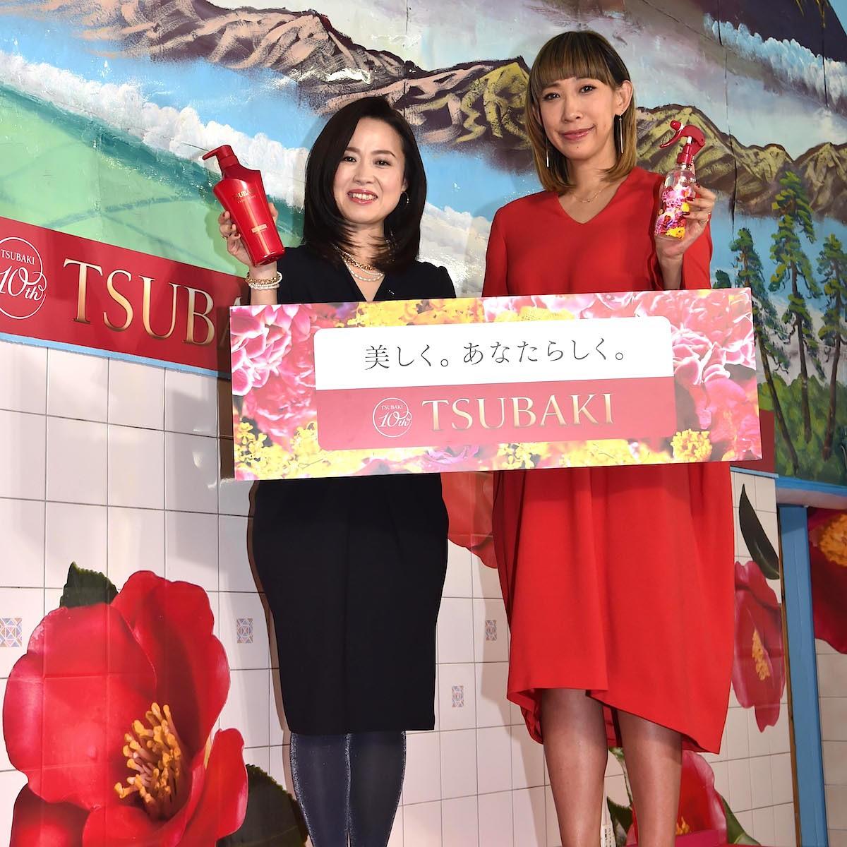 祝・10周年記念「TSUBAKI×蜷川実花さん」のスペシャルコラボ! 「TSUBAKI 湯」「限定コラボ品」お披露目会レポート!