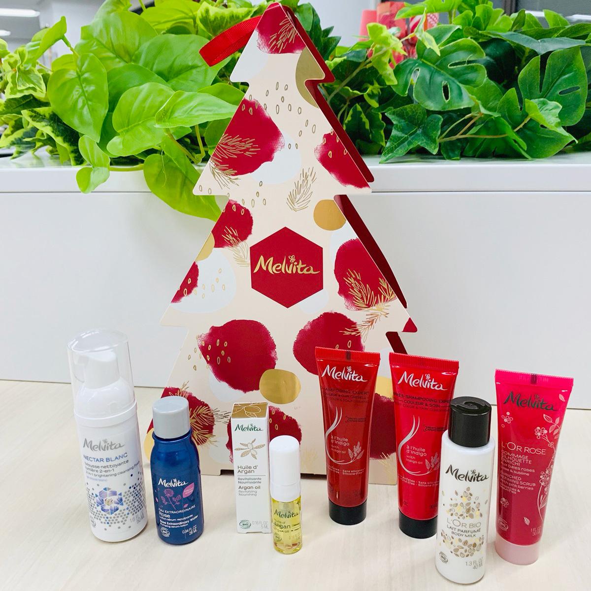『メルヴィータ』初のクリスマス限定アドベントBOXが登場! 多忙な時期こそ、自然の恵みで全身ケア #金曜日の肌投資コスメ