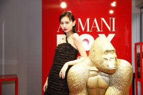 ジョルジオ アルマーニ ビューティのポップアップストア『ARMANI BOX』のオープニングセレモニーに、マキアミューズの鈴木えみさんが登場!
