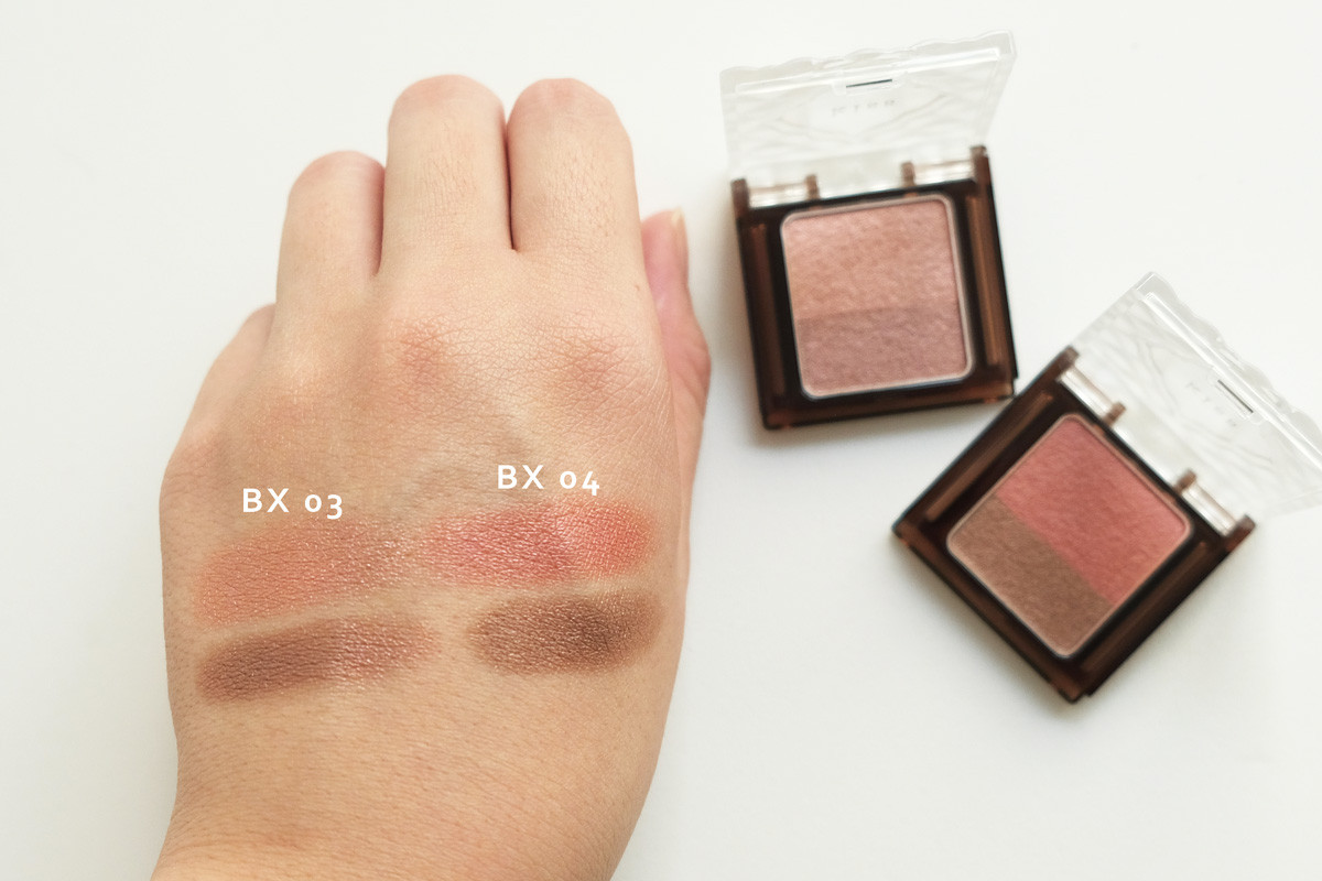 (左)BX03 ChocolatFramboise (右)BX04 ChocolatFig
