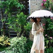 完全遮光日傘 サンバリア100で、シミ対策♡ 紫外線、赤外線、可視光線100%カット♡