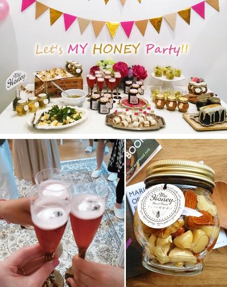 ダイエット中こそ甘いものにこだわりたい♡ 大人気♡ナッツの蜂蜜漬けで、はちみつパーティ【MY HONEY】