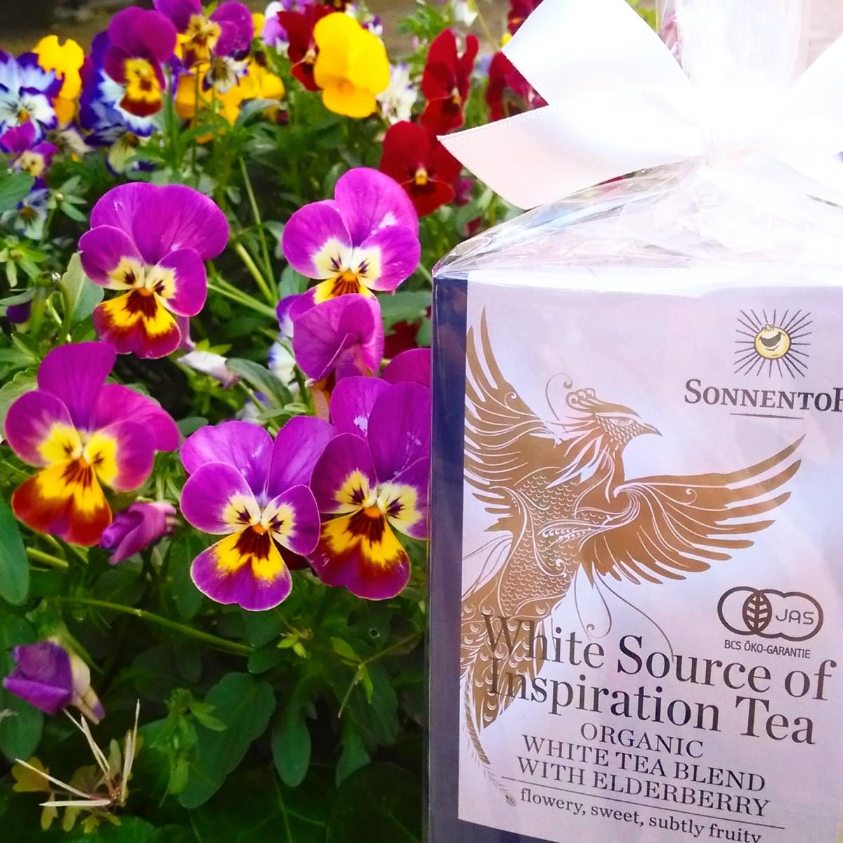 「美人をつくる」お茶♡ 抗酸化成分が緑茶の3倍以上、オーガニック ホワイトティー【ゾネントア社】
