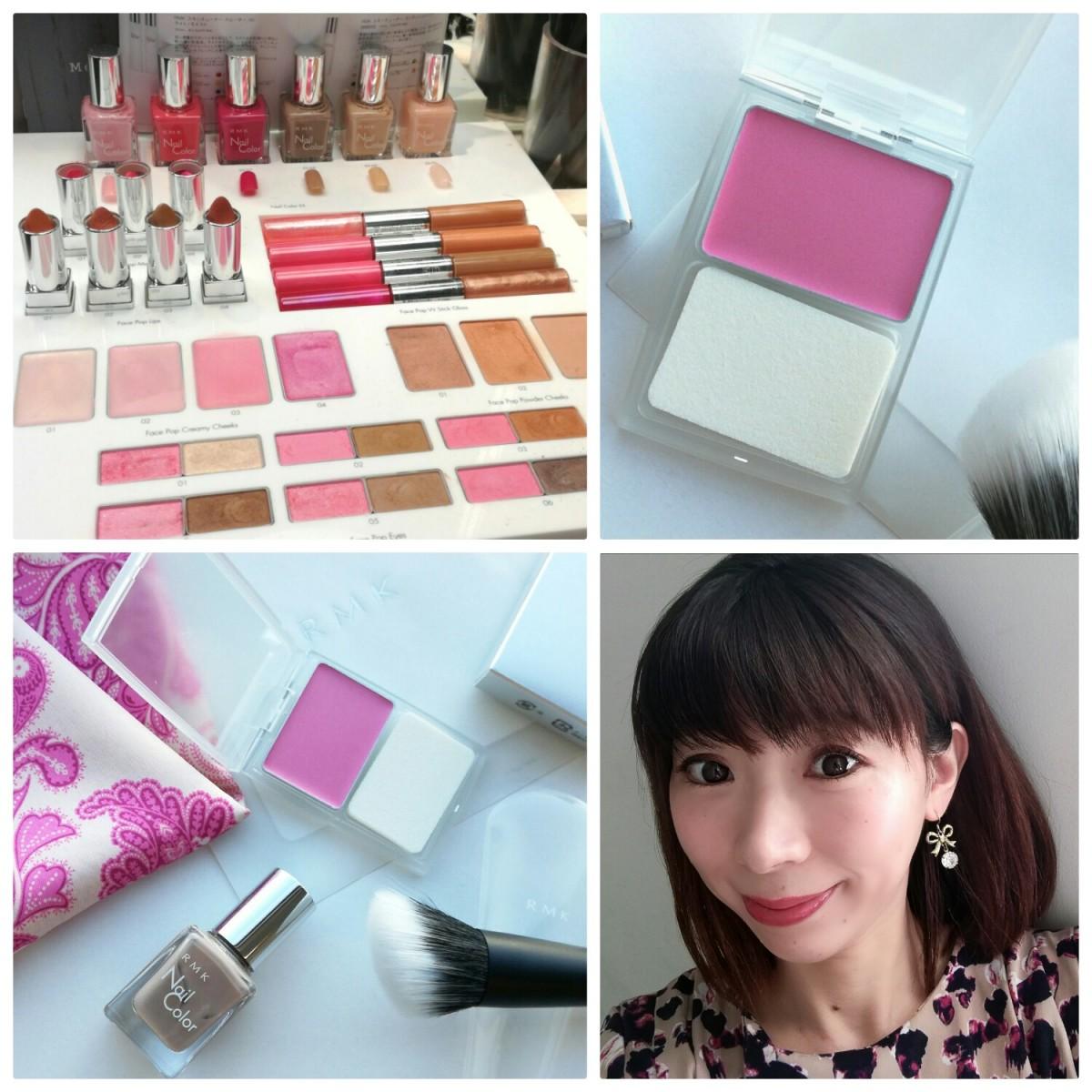 RMKの限定カラーに一目惚れ「ピンクとベージュ」で春夏トレンドメイク♡  #rmkcolorchange