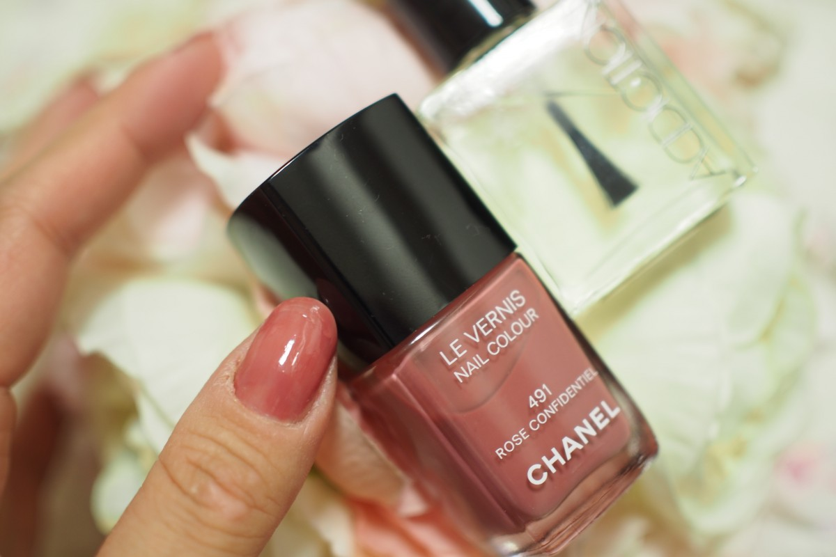 CHANELのle vernis nail color 491