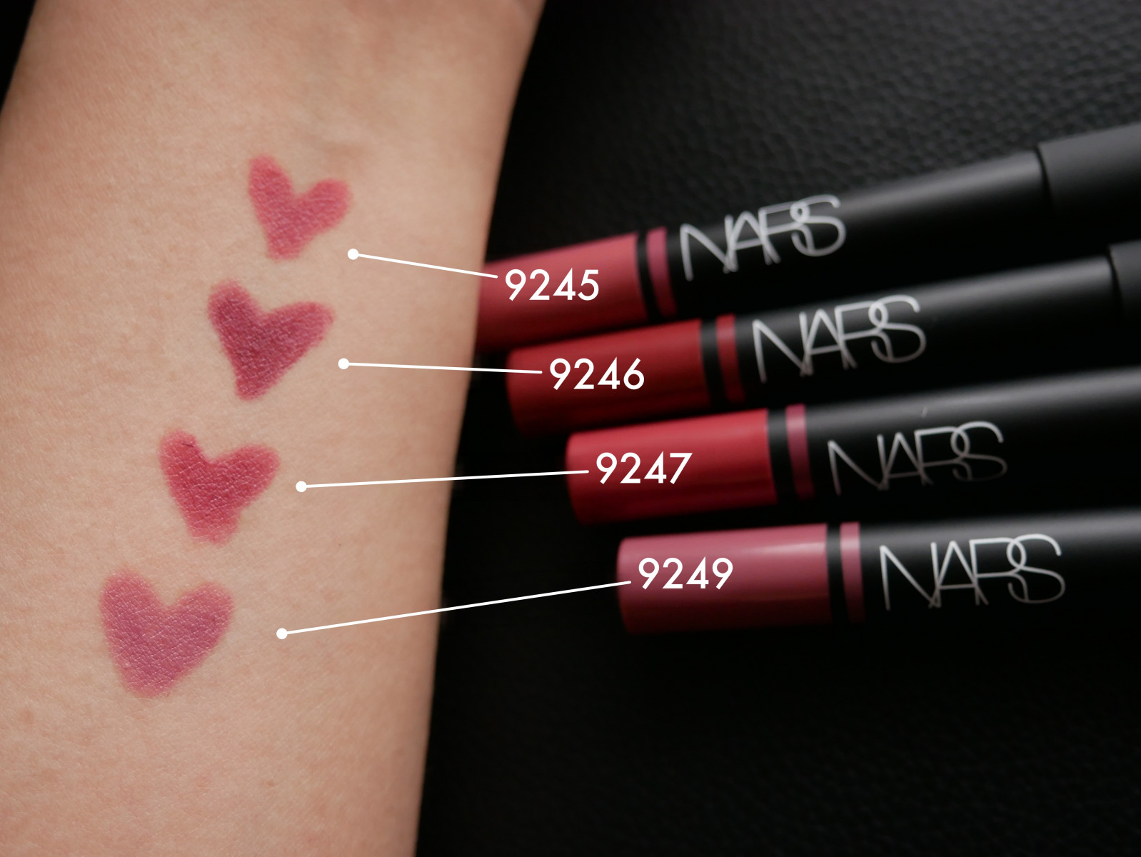 NARS 『サテンリップペンシル 』の新色が好みの色すぎて困った