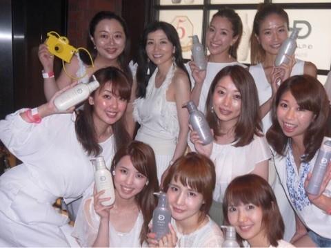 スカルプD ボーテ5周年パーティで美髪を目指す!!