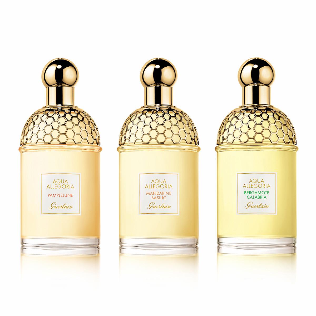 """シュッとひと吹きで、自然の楽園へと誘われる至福の香り。「ゲラン」の""""アクア アレゴリア""""から2つの香りが新登場!_1_2"""