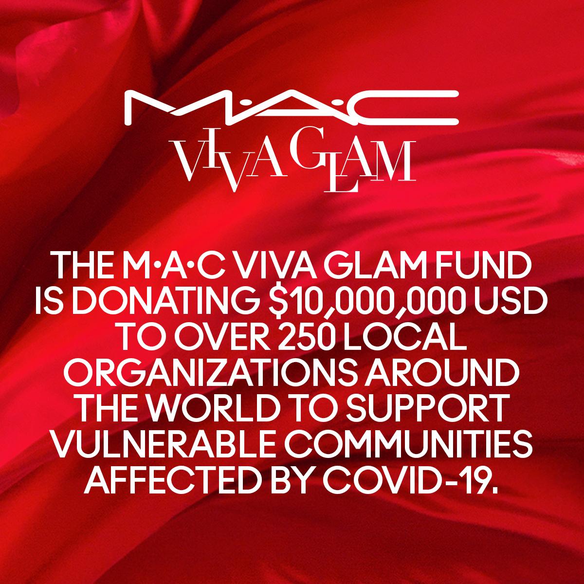 M・A・Cが新型コロナ感染対策のため1000万ドルの寄付を決定