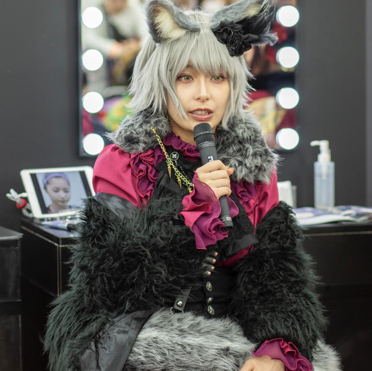 宇垣美里さんコスプレKATEメイク