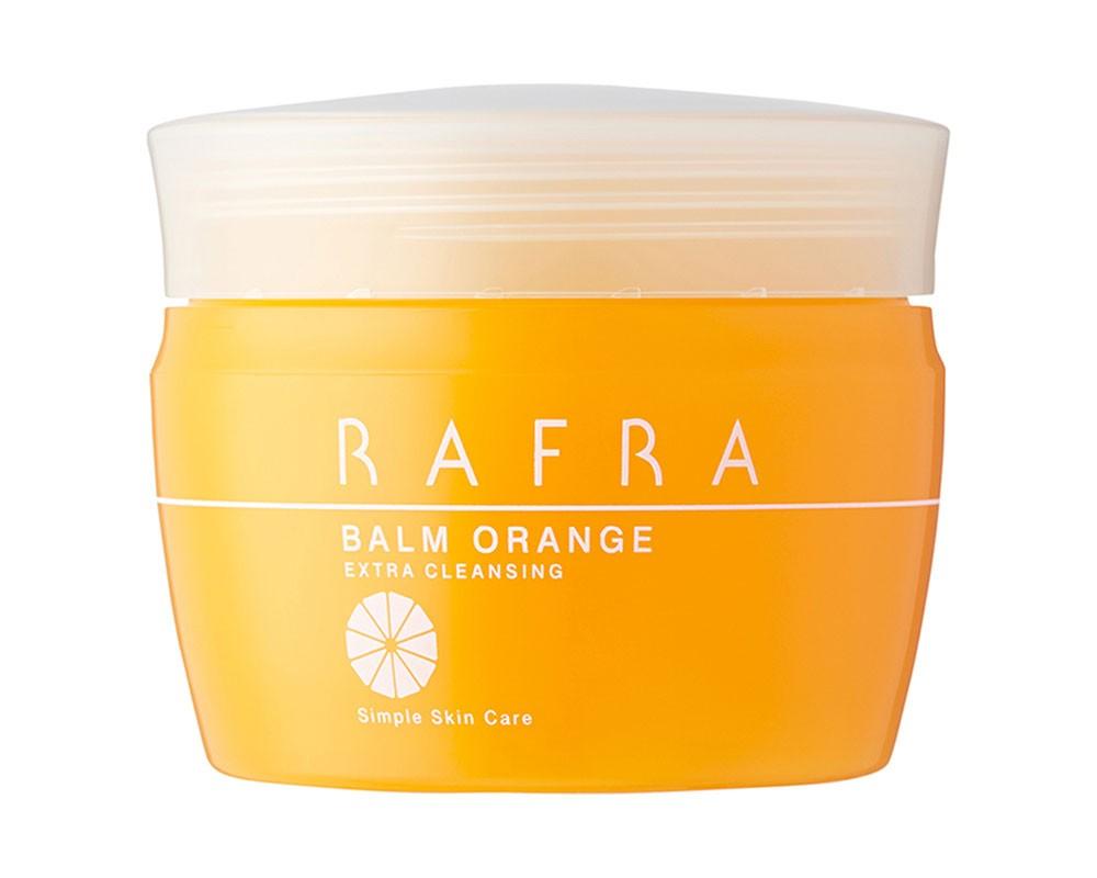 毛穴すっきり、洗うたびうるおう! とろける温感クレンジング「ラフラ バームオレンジ」