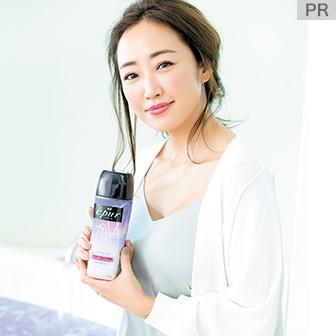 神崎恵さんの美ボディを育む、こだわりの入浴美容を公開