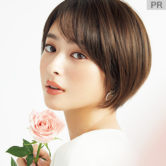 幸せを呼び込む植物の力で輝く髪に