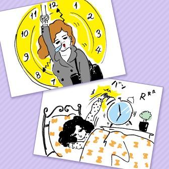 睡眠診断で「熟睡美人度」をチェック!