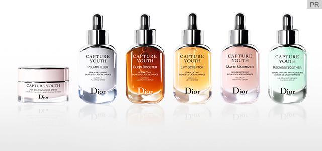 混ぜて重ねてカスタマイズ! Diorの新・予測型エイジングケア「カプチュール ユース」