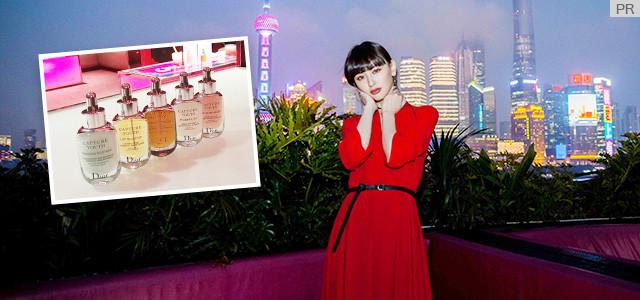 鈴木えみがレポート!Dior新スキンケア「カプチュール ユース」の秘密を紐解く上海トリップ