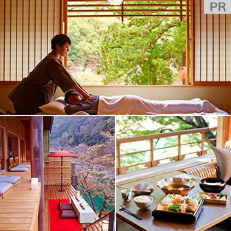 「星のや京都」で過ごす極上時間を体験