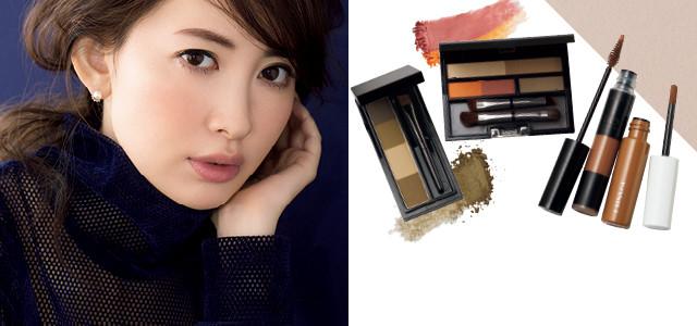 """次世代眉毛はレディな""""ふわ太眉""""。千吉良恵子さんが、パーフェクト美眉の作り方を解説!"""