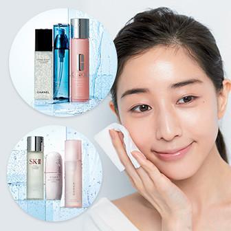 きれいな人は化粧水を3本使い分け!