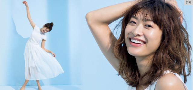 すこやかな美肌を持つ山田優さんが登場! シャネルのNo.1美容液で叶えるホリスティックな美しさ