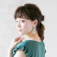 夏っぽい大ぶりイヤリングに似合うヘアアレンジ【ALL300円のプチプラアクセにも注目】