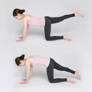 体のブレ防止!足の上げ下げで体幹のバランスアップ【美姿勢ワークアウトLesson5】