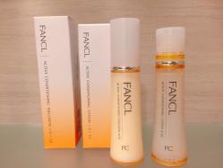 FANCL 無添加 アクティブコンディショニング EXで乾燥知らずのもっちりハリ肌に