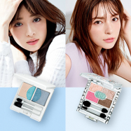 へア&メイク中山友恵さんが提案! 人気ブランドの新作パレットでつくる、春の顔