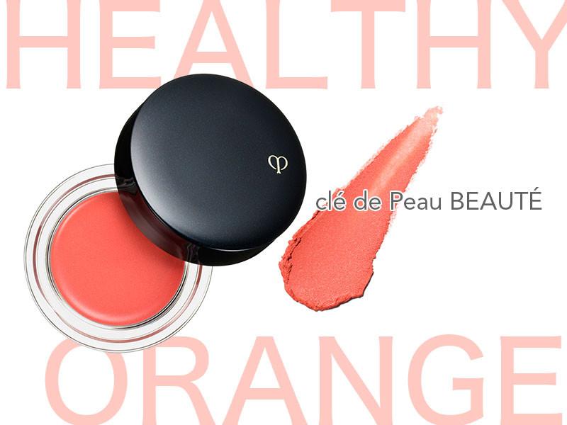 【Healthy】自然な血色が叶うオレンジ×クリームチークでヘルシーな表情に_1_2
