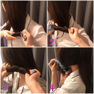 不器用さんにオススメ!コテなしで髪を巻く方法☆しかも髪、痛まない