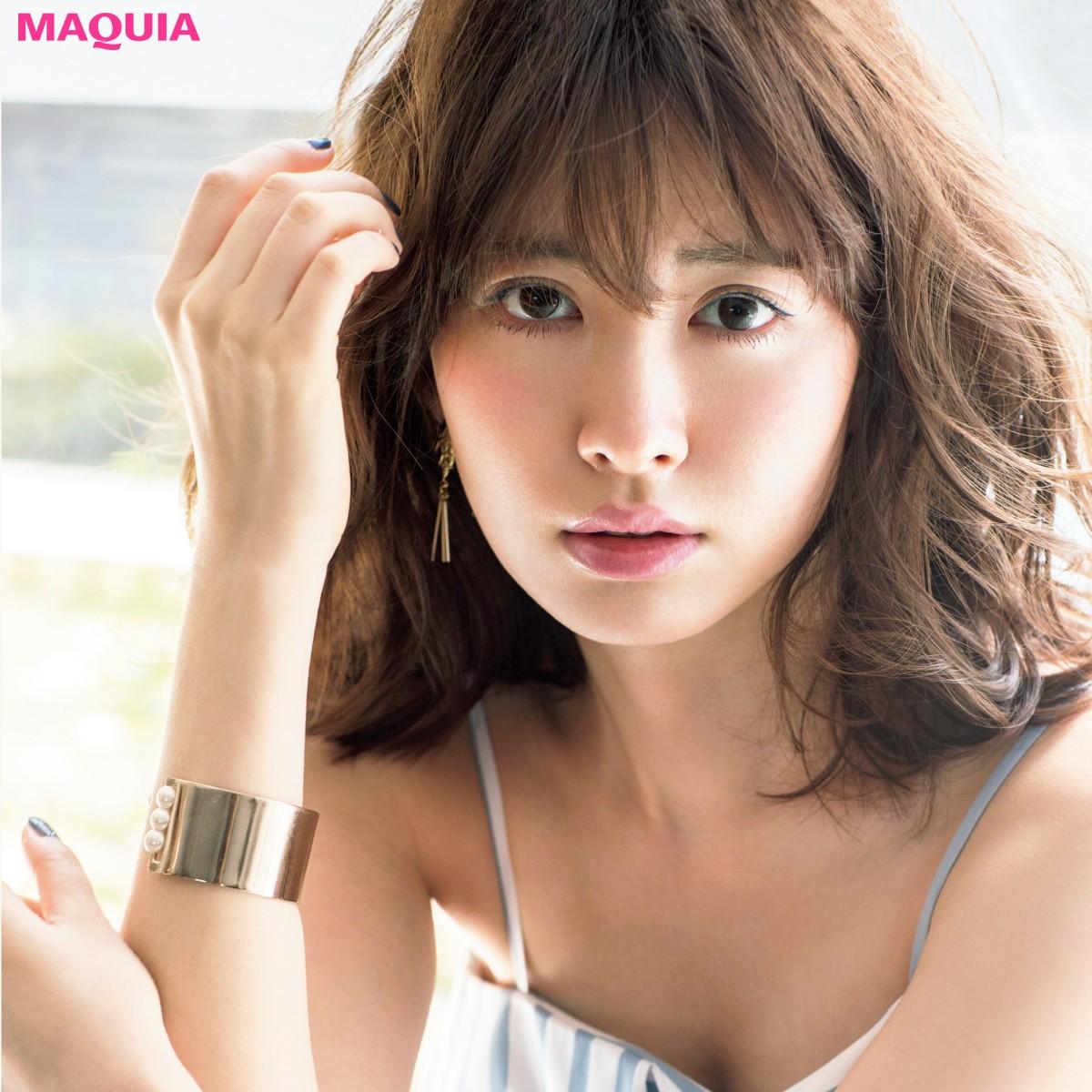 """小嶋陽菜さんの""""美容ファースト""""なライフスタイルとは?ケア法、愛用品etc.聞きました!"""