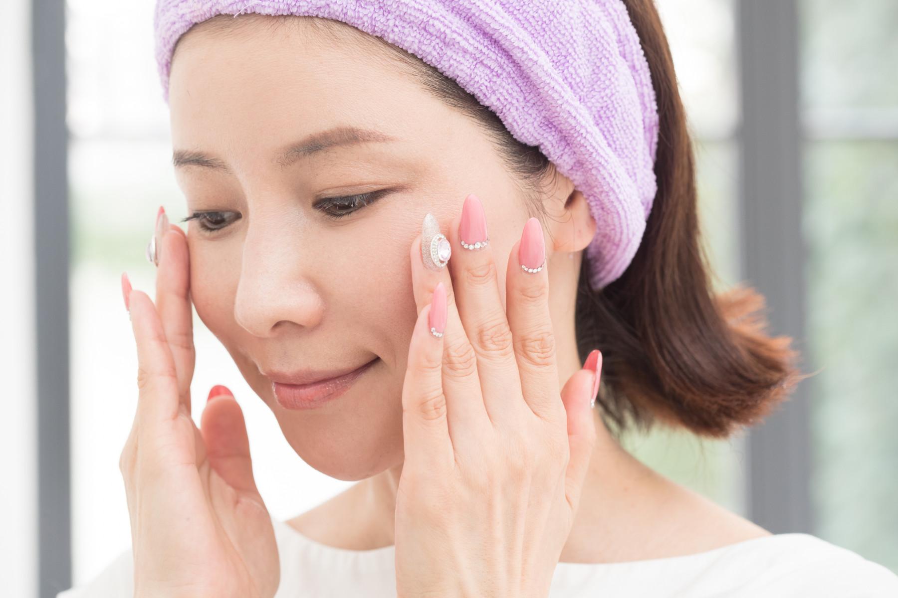 水谷雅子さん洗顔1