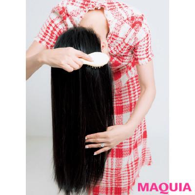 白髪はほとんどなし! アン ミカ流・美髪キープの習慣&お手入れ法を大公開_1_3