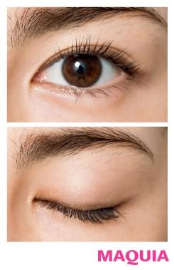 肌や瞳が明るい人に似合う! シアーブラウンEYE×コーラルリップ_1_3