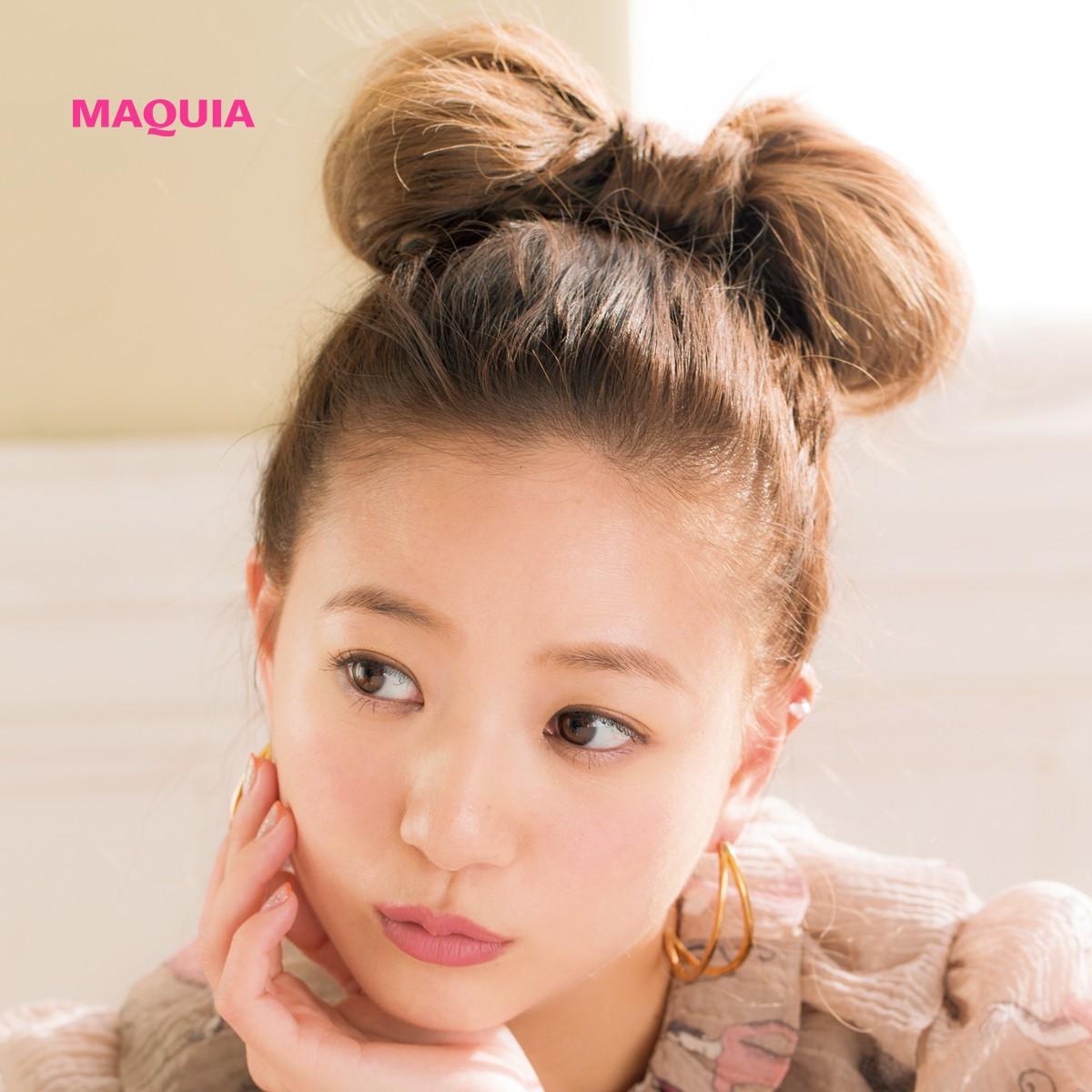 AAA伊藤千晃ちゃんが発信♡ 女子モテが狙える個性的なヘアアレンジ2パターン