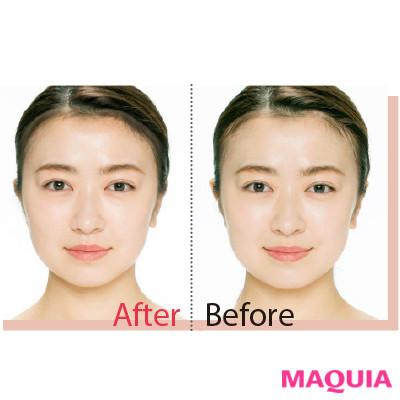 擬似髪づくりで顔面積を減らす!? アイデアに驚くプロ推薦の小顔コスメ_1_3