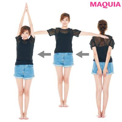 痩せる歩き方&筋力をアップさせる姿勢でキレイになれる! 仁香さんが実践する痩せグセ_1_4