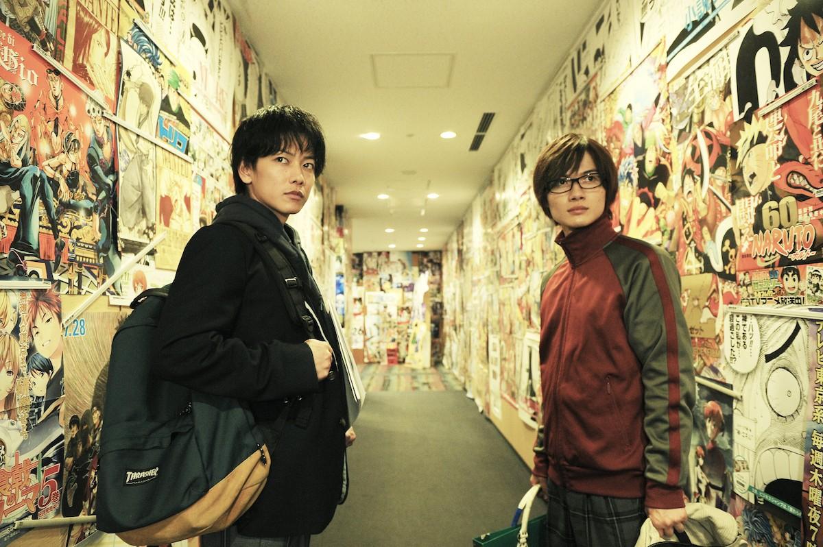 佐藤健、神木隆之介がバディを熱演! 文系イケメンに胸キュン♡ 『バクマン。』