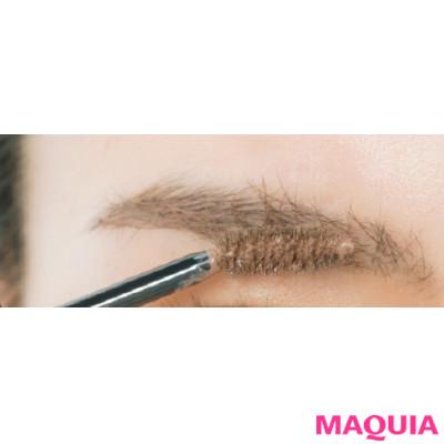 太く濃い眉はグレイッシュカラーで自然に! 長井かおりさんが描き方の正解を教えます_1_6