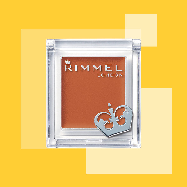 プチプラ 単色オレンジアイシャドウ  4   リンメル  プリズム クリームアイカラー 009