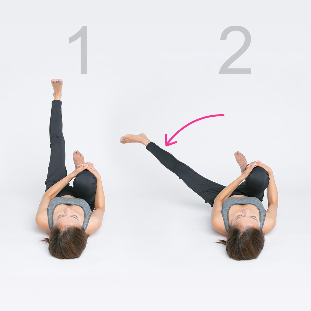 ヒップアップ、美脚にも!腸を正しい位置へ戻して筋力強化【美腸エクササイズLesson2】_1_2