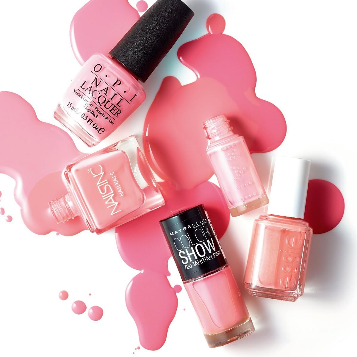 2017年ラッキーカラーはピンク! ラッキーピンクネイル図鑑