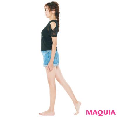 痩せる歩き方&筋力をアップさせる姿勢でキレイになれる! 仁香さんが実践する痩せグセ_1_3