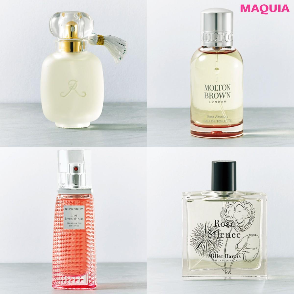 バラの香りで幸運体質に!女磨きを後押しするローズを感じる香り4選